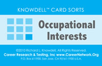 Knowdell Occupational Interests Card Sort